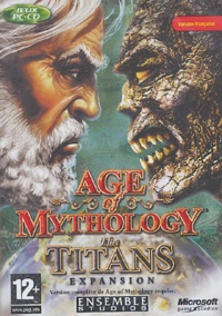 Microsoft Game Studio - Age of mythology, the titans expansion. - CD-ROM.
