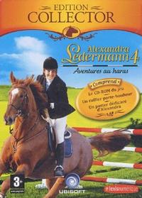 Ubisoft - Alexandra Ledermann 4 : Aventures au haras - CD-ROM Edition collector.