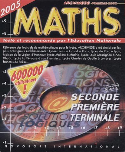 Innelec Multimedia - Archimède Premium 2005 Maths 2e/1e/Tle - CD-ROM.