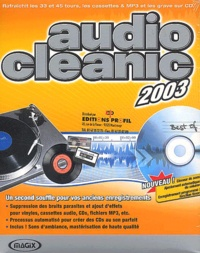 Collectif - Audio cleanic 2003 - CD-ROM.