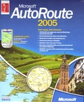 Microsoft - Autoroute 2005 - CD ROM.