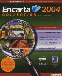 Collectif - Encarta Collection Edition 2004 - 4 CD-ROM.
