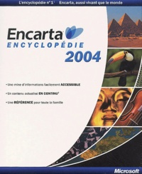 Collectif - Encarta Encyclopédie 2004 - CD-ROM.