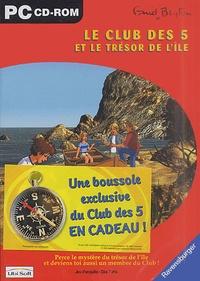 Enid Blyton - Le Club des Cinq  : Le Club des 5 et le trésor de l'île. 1 Cédérom