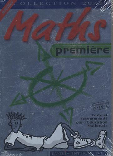 Innelec Multimedia - Maths première toute section. - CD-ROM.