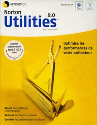 Symantec - Norton Utilities 8.0 - CD-ROM pour Macintosh.