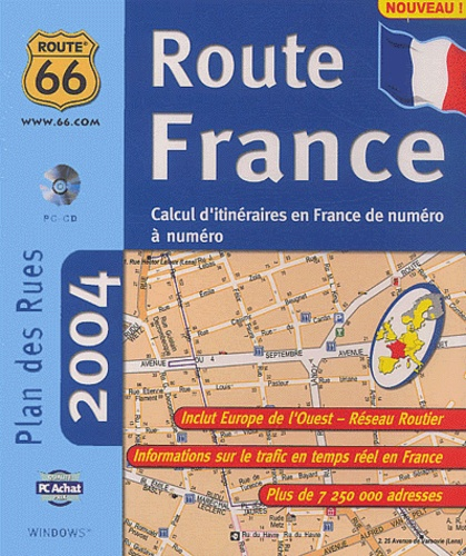 Collectif - Route 66 Route France 2004. - CD-ROM.