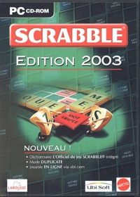 Collectif - Scrabble - Edition 2003, CD-ROM.