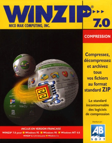 Collectif - Winzip 7.0 Compression - CD ROM.