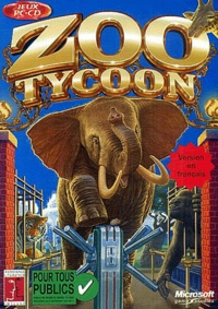 Microsoft Game Studio - Zoo Tycoon - CD-ROM.