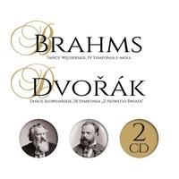 Antonin Dvorak et Johannes Brahms - Brahms ; Dvorak. 2 CD audio
