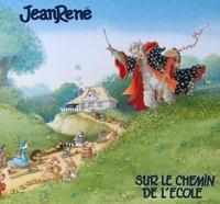Jean René - Sur le chemin de l'école - 1 disque vinyle.