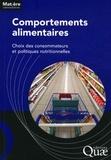 INRA - Comportements alimentaires - Choix des consommateurs et politiques nutritionnelles.