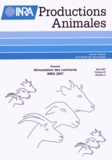 INRA - INRA Productions Animales Volume 20 N° 2, Mai  : Alimentation des ruminants.