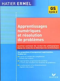 INRP et  ERMEL - Apprentissages numériques et résolution de problèmes Grande Section.