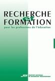 INRP - Revue recherche et formation n°36 : le praticien réflexif.