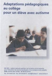 Christine Philip - Adaptations pédagogiques au collège pour un élève avec autisme. 1 DVD