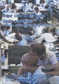 Marc Imberty - Pour une continuité de la scolarité. 1 DVD