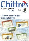 INSEE Alsace - L'année économique et sociale 2005 - Chiffres pour l'Alsace.