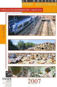 INSEE Aquitaine - Tableaux économiques de l'Aquitaine.