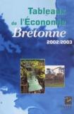 INSEE Bretagne - Tableaux de l'économie bretonne 2002-2003.