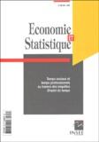 Pierre Morin et  Collectif - Economie et statistique N° 352-353/2002 : Temps sociaux et temps professionnel au travers des enquêtes Emploi du temps.