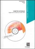 INSEE - Comptes nationaux - Rapport sur les comptes de la nation 2003. 1 Cédérom