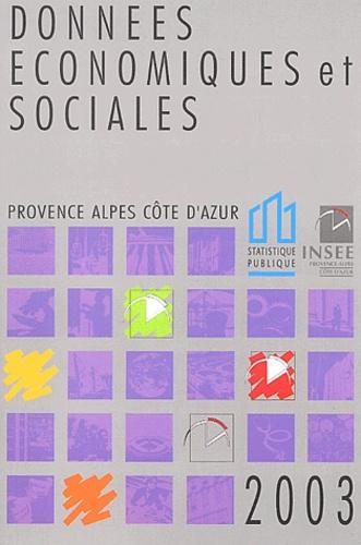 INSEE - Données économiques et sociales Provence Alpes Côte d'Azur.