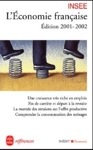 Deedr.fr L'économie française. Edition 2001-2002 Image