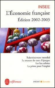 Histoiresdenlire.be L'économie française. Edition 2002-2003 Image