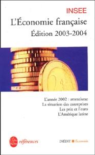 Histoiresdenlire.be L'économie française - Rapport sur les comptes de la Nation de 2002, Edition 2003-2004 Image