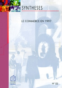 INSEE - Le commerce en 1997.