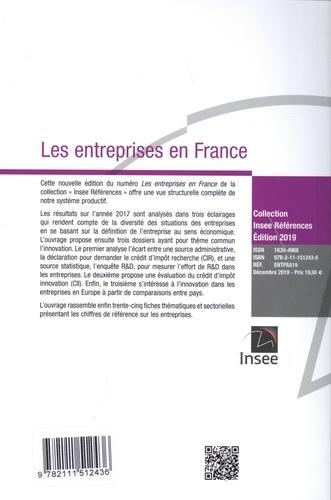 Les entreprises en France  Edition 2019