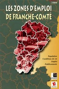 INSEE - Les zones d'emploi de Franche-Comté.