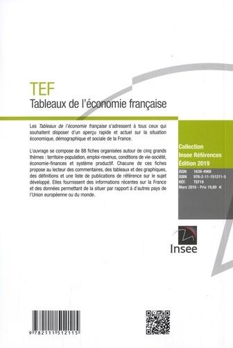 Tableaux de l'économie française  Edition 2019