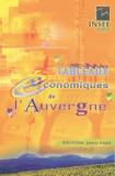 INSEE - Tableaux économiques de l'Auvergne.