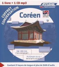 Inseon Kim - Coréen - Coffret conversation. 1 CD audio MP3