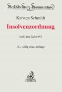 Insolvenzordnung - mit EuInsVO.