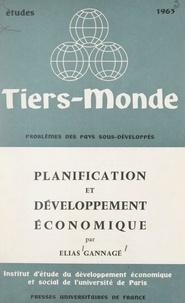 Institut d'Étude du Développem et Elias Gannagé - Planification et développement économique.