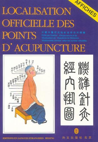 Institut d'Acupuncture - Localisation officielle des points d'acupuncture - Affiches.