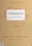 Institut d'études politiques d et Denis-Constant Martin - Constellation, satellites, systèmes : enjeux régionaux, enjeux continentaux en Afrique Australe.