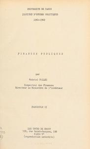 Institut d'études politiques d et Gabriel Pallez - Finances publiques (2).