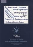 Bernadette Mérenne-Schoumaker - Bulletin de la Société géographique de Liège N° 62, 2014 : Questions et débats dans la géographie d'aujourd'hui.