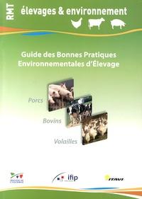 Institut de l'élevage - Guide des bonnes pratiques environnementales d'élevage.