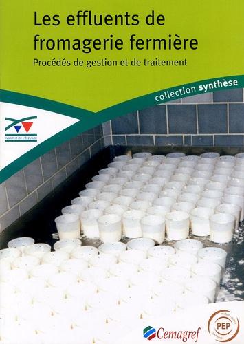 Institut de l'élevage - Les effluents de fromagerie fermière - Procédés de gestion et de traitement.