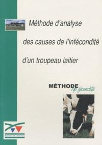 Institut de l'élevage - Méthode d'analyse des causes de l'infécondité du troupeau laitier - Méthode Top fécondité.