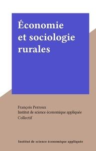 Institut de science économique et  Collectif - Économie et sociologie rurales.