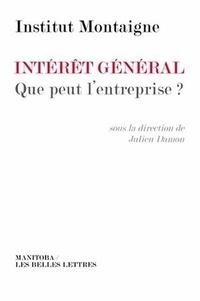 Intérêt général- Que peut l'entreprise ? -  Institut Montaigne |