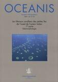 Virginie Duvat - Oceanis Volume 31 N° 1/2/200 : Les littoraux coralliens des petites îles de l'ouest de l'océan Indien - 1re partie, Géomorphologie.