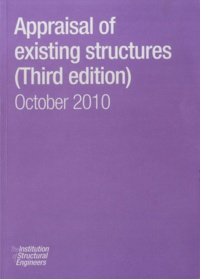 Institution of Structural - Appraisal of Existing Structures - October 2010.